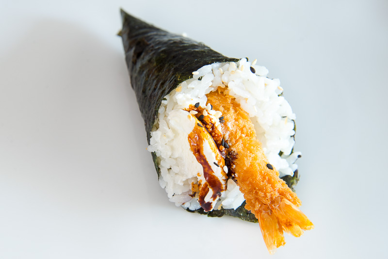 temaki ebi ten